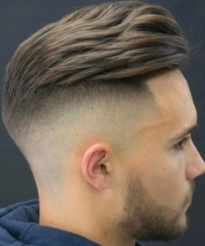Quiff High Fade Hair Cut