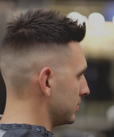 High Skin Fade Hair Cut