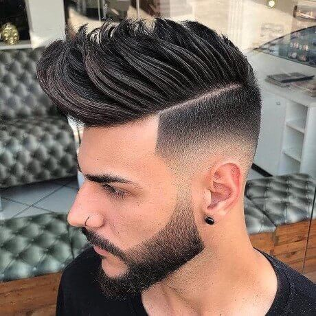 Spiky Fade Hair Cut