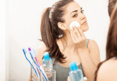Baby oil to remove makeup