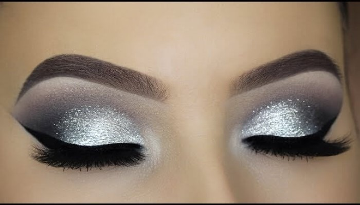silver-black-cut-crease-makeup-how-to-describe-brown-eyes
